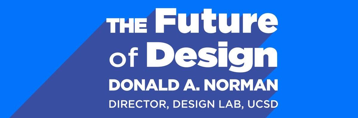 don norman newschoolofarchitectureanddesign