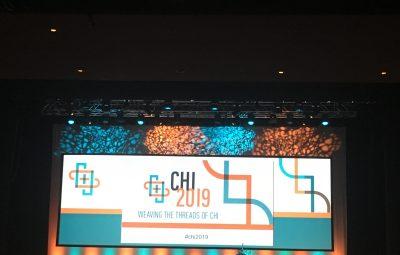 CHI 2019 Conference In Glasgow, Scotland