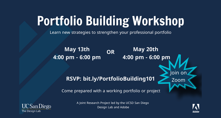 portfolio building workshop