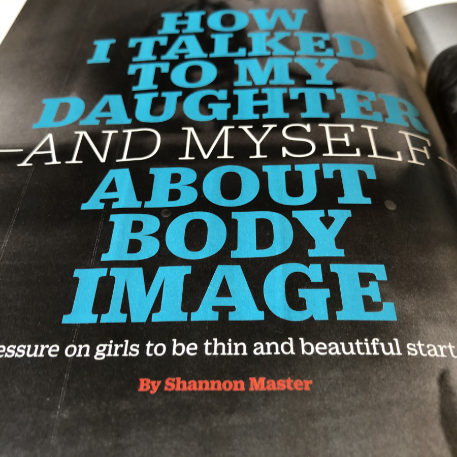 How I Talked To My Daughter About Body Image
